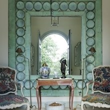 Фотография: Декор в стиле Кантри, Декор интерьера, Дом, Декор дома, Зеркало – фото на InMyRoom.ru