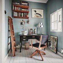 Фотография: Кабинет в стиле Скандинавский, Декор интерьера, Квартира, Швеция – фото на InMyRoom.ru