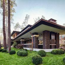 Фото из портфолио «Дом в стиле Райта» – фотографии дизайна интерьеров на INMYROOM