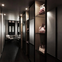 Фотография: Прихожая в стиле Современный, Дом, Цвет в интерьере, Дома и квартиры, Белый – фото на InMyRoom.ru