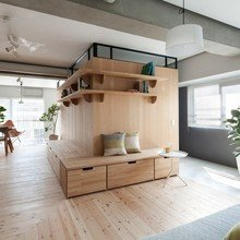 Фото из портфолио ДЕРЕВО в отделке и оформлении дома - это красиво, естественно, экологично!  – фотографии дизайна интерьеров на InMyRoom.ru
