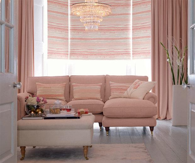Фотография: Гостиная в стиле Восточный, Декор интерьера, Текстиль, Шторы – фото на InMyRoom.ru
