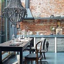 Фотография: Кухня и столовая в стиле , Лофт, Эклектика, Декор интерьера, Швеция, Декор дома, Советы, Шебби-шик – фото на InMyRoom.ru