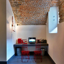 Фотография: Офис в стиле Кантри, Лофт, Современный, Эклектика – фото на InMyRoom.ru