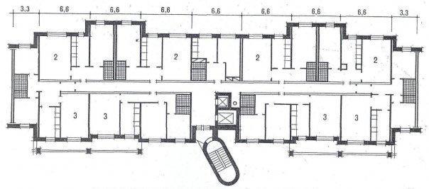 Типовая планировка квартир