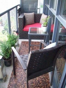 Фотография: Балкон в стиле Современный, Прованс и Кантри, Квартира, Декор, Советы, как обустроить открытый балкон, городской балкон, открытый балкон, идеи для открытого балкона – фото на InMyRoom.ru