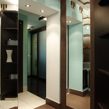 Фотография: Прихожая в стиле Современный, Хай-тек, Классический, Квартира, Проект недели – фото на InMyRoom.ru