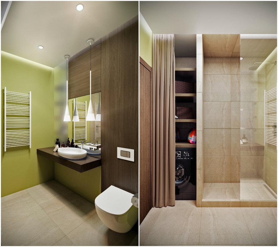 Фотография:  в стиле , Квартира, Проект недели, Co:Interior, 1 комната, 40-60 метров, Монолитно-кирпичный, ЖК «Новое Тушино» – фото на InMyRoom.ru