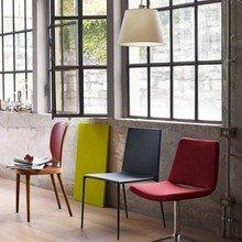 Фотография: Мебель и свет в стиле Лофт, Квартира, Цвет в интерьере, Дома и квартиры, B&B Italia – фото на InMyRoom.ru