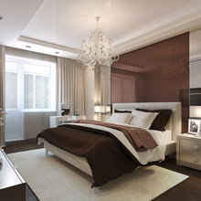 Фото из портфолио Проект двухкомнатной квартиры в стиле ар-деко – фотографии дизайна интерьеров на InMyRoom.ru