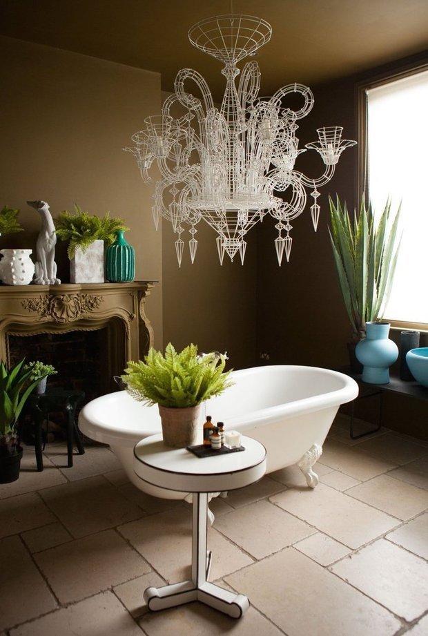 Фотография: Ванная в стиле Эклектика, Интервью, Правила дизайна, Абигейл Ахерн – фото на INMYROOM