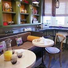 Фото из портфолио Samsung Staron: Кухня-кафе – фотографии дизайна интерьеров на InMyRoom.ru