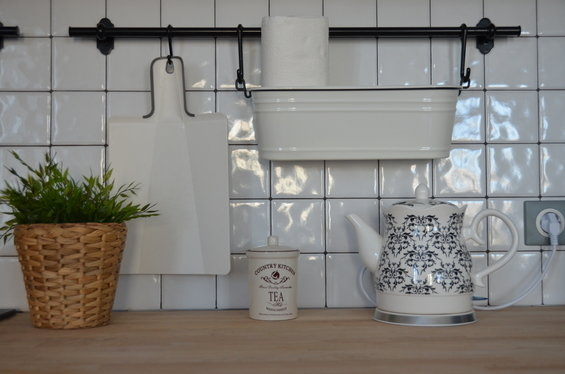 Фотография: Кухня и столовая в стиле Современный, Декор интерьера, Дом, Eames, Ju-Ju, pottery barn, Дома и квартиры, IKEA, Zara Home, Maison & Objet, Женя Жданова – фото на InMyRoom.ru
