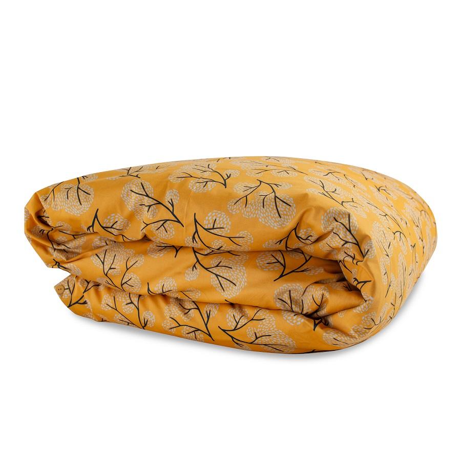 Пододеяльник из сатина с принтом сибирский цветок 200х200