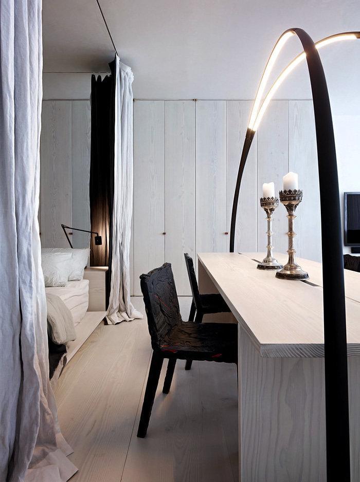 Фотография: Спальня в стиле , Декор интерьера, Квартира, Дома и квартиры, Минимализм, Нью-Йорк – фото на InMyRoom.ru