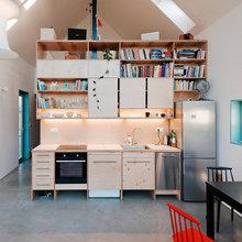 Фотография: Кухня и столовая в стиле Лофт, Декор интерьера, Дом, Мебель и свет, Минимализм – фото на InMyRoom.ru