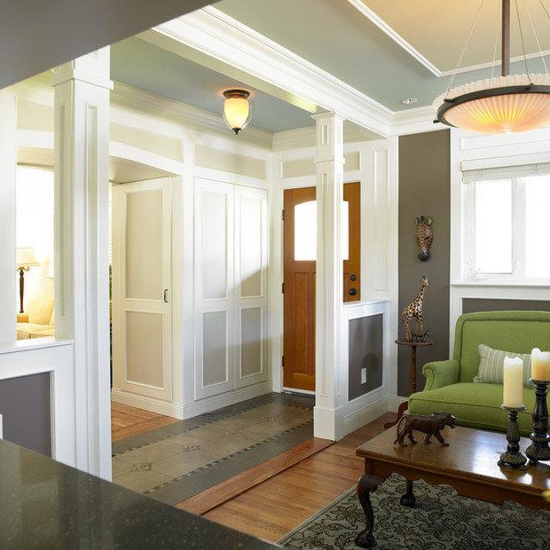 Фотография: Прихожая в стиле Прованс и Кантри, Интерьер комнат – фото на InMyRoom.ru