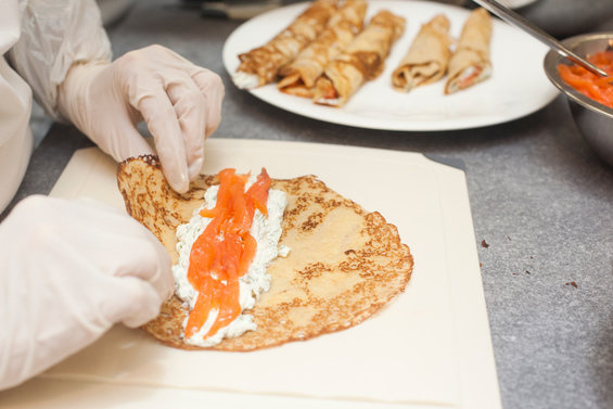 Фотография: Кабинет в стиле Современный, Стиль жизни, Еда, Кулинарная студия Clever, Кулинария – фото на InMyRoom.ru