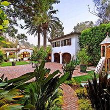 Фотография: Ландшафт в стиле , Дом, Дома и квартиры, Интерьеры звезд, Калифорния – фото на InMyRoom.ru