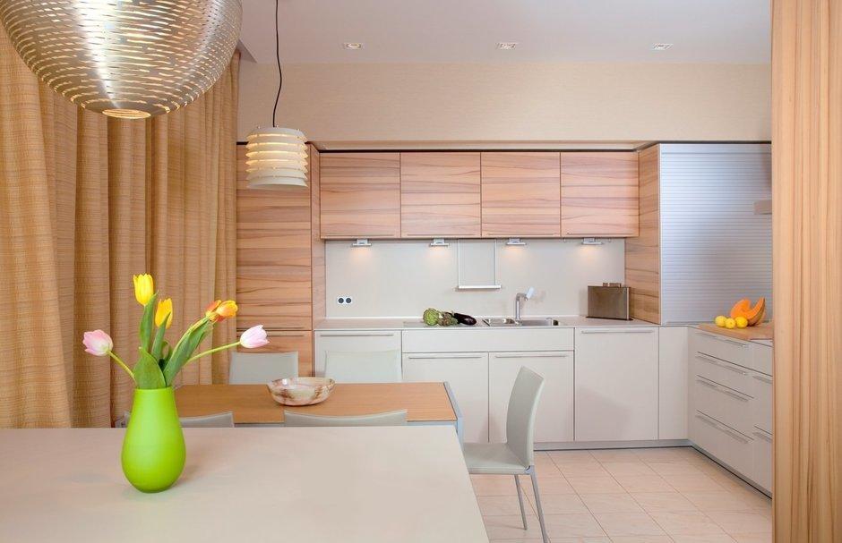 Фотография: Кухня и столовая в стиле Современный, Квартира, Дома и квартиры, Пентхаус – фото на InMyRoom.ru