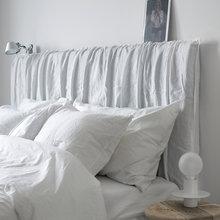 Фотография: Спальня в стиле Эко, Скандинавский, Декор интерьера, Квартира, Аксессуары, Мебель и свет, Белый, Черный – фото на InMyRoom.ru