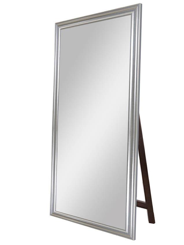Купить Зеркало напольное Серебряный веласкес в раме из дерева, inmyroom, Испания