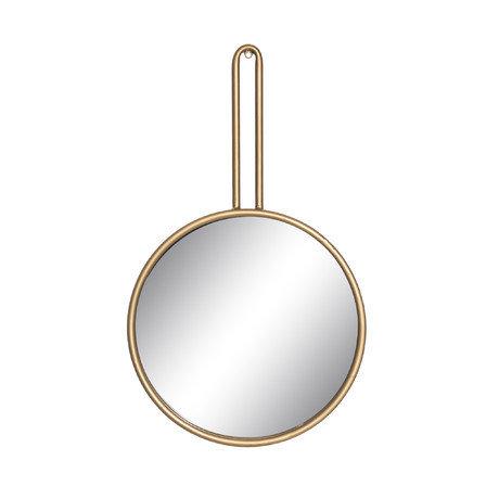Зеркало настенное в металлической раме золотого цвета — купить по цене 5080 руб в Москве | фото, описание, отзывы, артикул IMR-1001815 | Интернет-магазин INMYROOM