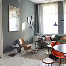 Фото из портфолио Интерьер в темных тонах – стильно и комфортно!  – фотографии дизайна интерьеров на INMYROOM