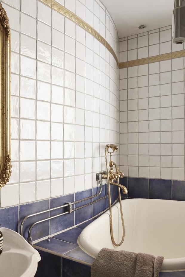 Фотография: Ванная в стиле Минимализм, Скандинавский, Декор интерьера, Малогабаритная квартира, Квартира, Студия, Швеция, Стокгольм – фото на InMyRoom.ru