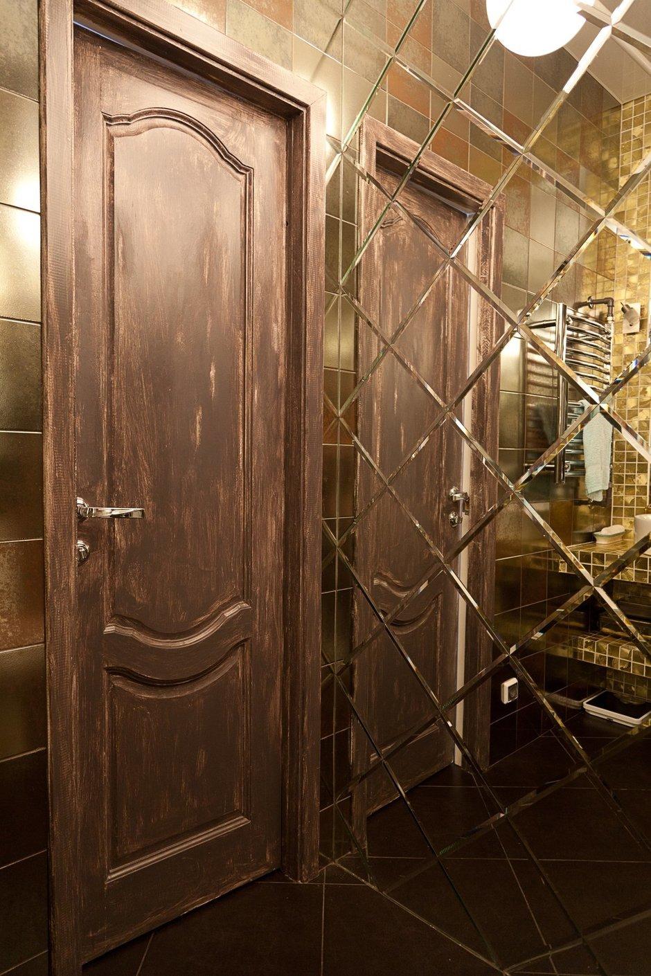 Фотография: Ванная в стиле , Лофт, Малогабаритная квартира, Квартира, Цвет в интерьере, Дома и квартиры, Стены – фото на InMyRoom.ru