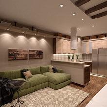 Фото из портфолио Загородная квартира – фотографии дизайна интерьеров на INMYROOM