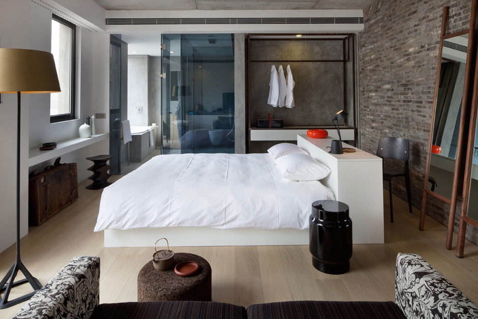Фотография: Спальня в стиле Современный, Дома и квартиры, Городские места – фото на InMyRoom.ru