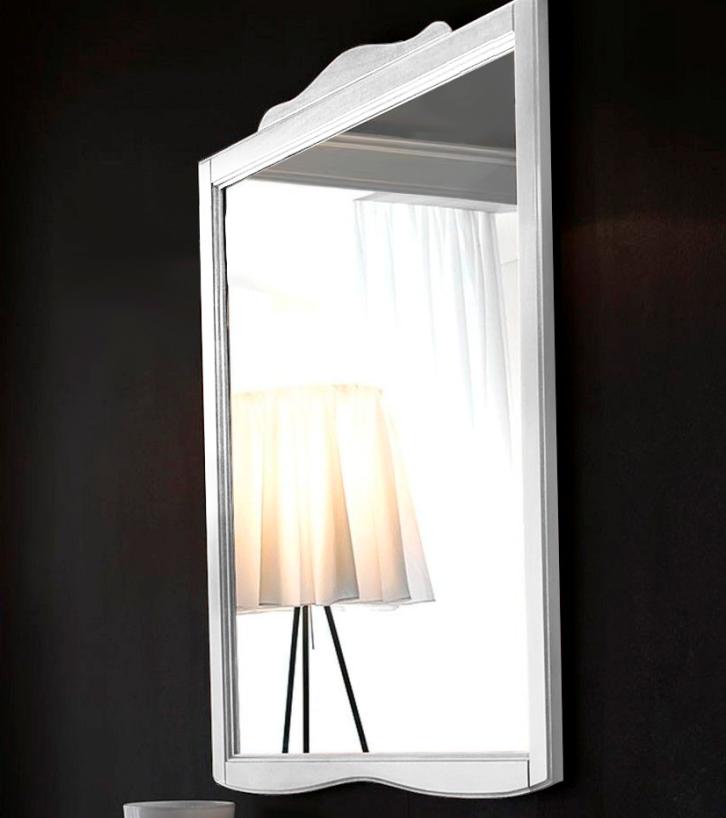 Купить Настенное зеркало Retro в раме белого цвета, inmyroom, Италия