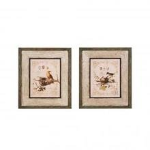 Картины в рамах Framed Wall Plaque with Bird in Nest Image