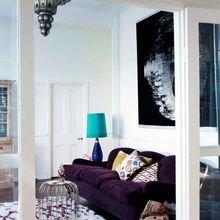 Фото из портфолио Насыщенно-сиреневый цвет : весенняя теплота и мягкость – фотографии дизайна интерьеров на InMyRoom.ru