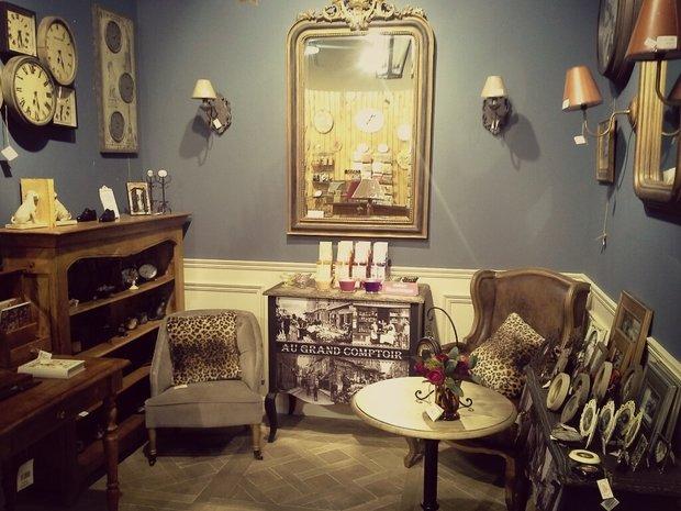 Фотография: Офис в стиле , Декор интерьера, Comptoir de Famille, Country Corner, Мебель и свет, Стол, Интерьерная Лавка, Журнальный столик – фото на InMyRoom.ru