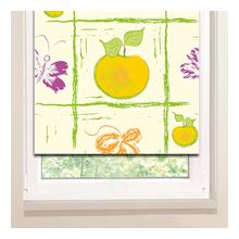 Рулонные шторы: Яблочный нолик