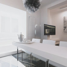 Фото из портфолио Отражения в белом – фотографии дизайна интерьеров на InMyRoom.ru
