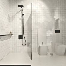 Фотография: Ванная в стиле Современный, Декор интерьера, Дом, Дома и квартиры, Архитектурные объекты, Проект недели – фото на InMyRoom.ru
