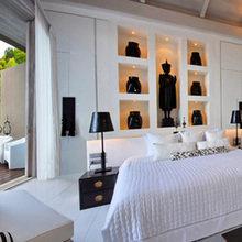 Фотография: Спальня в стиле Восточный, Эклектика, Дом, Тайланд, Дома и квартиры, Отель – фото на InMyRoom.ru