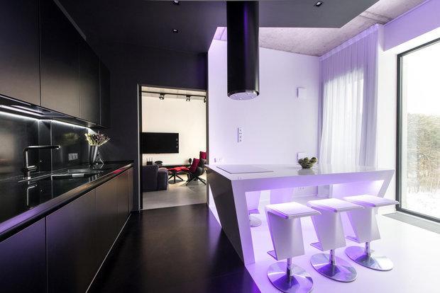 Фотография: Кухня и столовая в стиле Хай-тек, Советы, энциклопедия_мебель – фото на INMYROOM