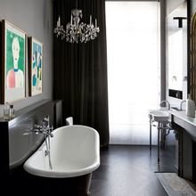 Фото из портфолио  Нестандартные цвета для ванной – фотографии дизайна интерьеров на INMYROOM