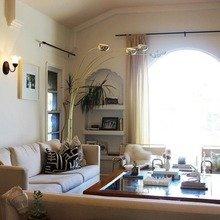 Фотография: Гостиная в стиле Скандинавский, Дом, Дома и квартиры, Ретро, Плитка, Ар-деко, Лос-Анджелес – фото на InMyRoom.ru