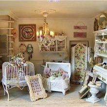 Фотография: Декор в стиле Кантри, Спальня, Дизайн интерьера, Шебби-шик – фото на InMyRoom.ru