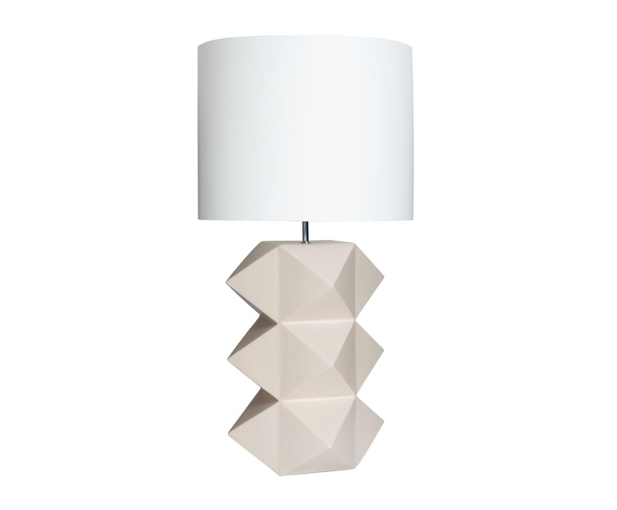 Купить Настольная лампа из керамики бежевого цвета, inmyroom, Португалия