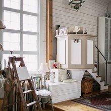 Фото из портфолио Как превратить ЧАСОВНЮ в уютный дом      – фотографии дизайна интерьеров на INMYROOM