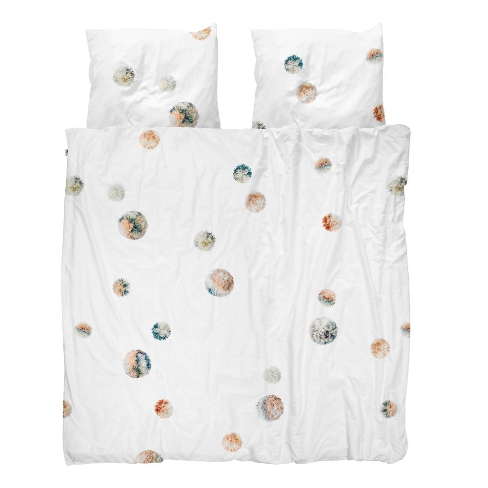 Комплект постельного белья помпон 220х200