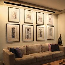 Фотография: Гостиная в стиле Современный, Декор интерьера, Мебель и свет, Светильник – фото на InMyRoom.ru