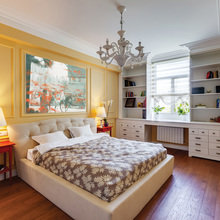 Фотография: Спальня в стиле Классический, Эклектика, Квартира, Дома и квартиры, Проект недели – фото на InMyRoom.ru