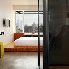 Фотография: Спальня в стиле Минимализм, Дома и квартиры, Городские места – фото на InMyRoom.ru